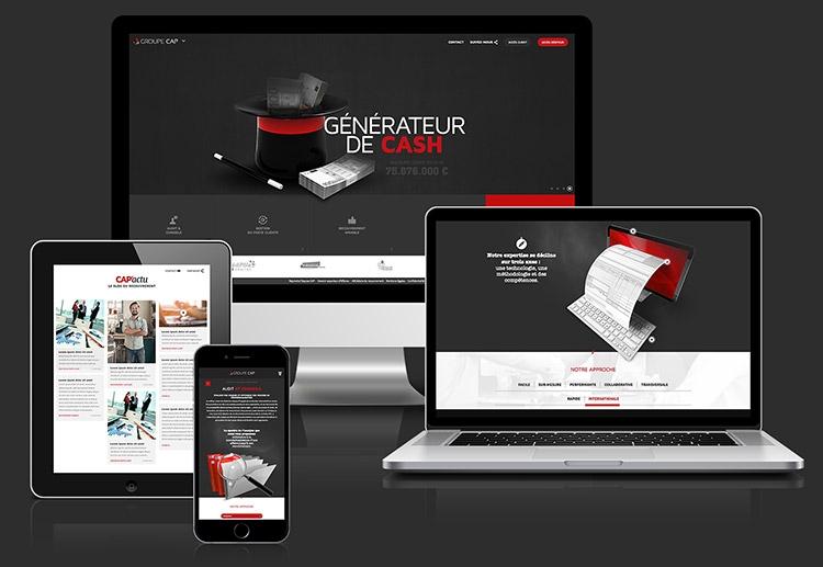 Nouveau site internet Groupe CAP